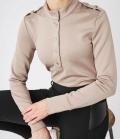 PS of Sweden Sweatshirt Carmen mit Turtle Neck HW´21 - beige
