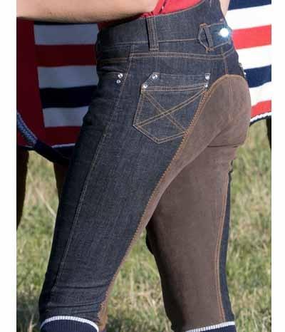 Neueste Mode 100% hohe Qualität Gutscheincode HKM Reithose Damen Jeans Miss Blink Sale