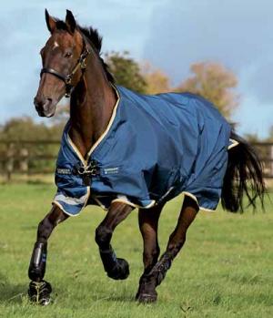 Horseware Turnoutdecke Rambo 100g Leg Arches