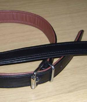 Hundehalsband Paddy Leder SP
