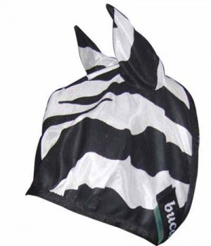 Bucas Fliegenmaske Zebra UV beständig SP