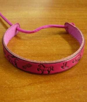 Armbänder Leder f. Kinder/Jugendliche