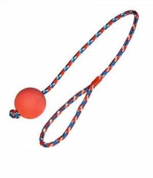 Ball Moosgummi am Seil